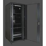 PORTE 19 rozvaděč stojanový 22U/600x800 černý s příslušenstvím (GB6822)