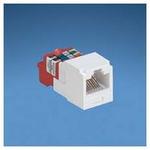 Panduit modul, UTP, C5E, bílý CJ588AW (CJ588AWY)