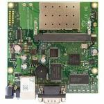MikroTik RB411AR / RouterBOARD / 300 MHz/ 64 MB RAM/ 1 x miniPCI/ 1x LAN/ RouterOS L4/ WiFi karta b/g (RB411AR)