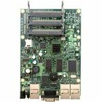 MikroTik RB433 / RouterBOARD / 300 MHz, 64 MB RAM, 3x miniPCI, 3x LAN, RouterOS L4 (RB/433)