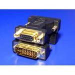 OEM Redukce konektoru DVI/VGA DVI-A(M) - FD15HD zlacený (12.03.3105)