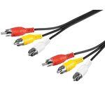 PremiumCord Kabel 3x CINCH-3x CINCH M/M 10m (8592220004477)