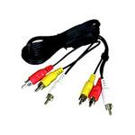 PremiumCord Kabel 3x CINCH-3x CINCH M/M 5m (8592220004453)