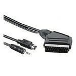 "PremiumCord Kabel SCART-S-video+sjack3.55m+kondenz. (8592220007324) - PremiumCord SCART-S-video+sjack3.5""5m+kondenz."