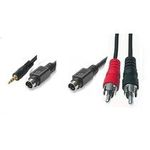 PremiumCord Kabel S-Video+3,5Jack-S-Video+2xCINCH 5m (8592220009014)