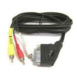 PremiumCord Kabel SCART - 3xCINCH M/M 1.5m in/out přepínač (8592220004484) - PremiumCord kjssc-2