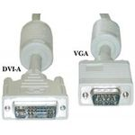 PremiumCord DVI-VGA kabel 1m (8592220010621)