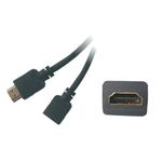 PremiumCord Prodlužovací kabel HDMI-HDMI 2m (8592220002473)