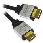 PremiumCord Kabel HDMI A - HDMI A M/M 5m zlacené konektory, verze HDMI 1.3b HQ (8592220003876) - Pre