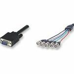 PremiumCord Kabel k monitoru VGA 15p 5BNC 2m (8592220000783)