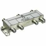 PremiumCord antenní rozbočovač na F konektory 1-6 výstupy 5-1000 MHz (8592220009465)