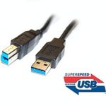 PremiumCord USB 3.0 kabel A-B propojovací 3m / Super-speed 5Gbps (8592220006846)