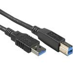 PremiumCord USB 3.0 kabel A-B propojovací 5m / Super-speed 5Gbps (8592220006853)