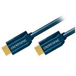 ClickTronic HQ OFC kabel HDMI male HDMI male, zlacené, HDMI High Speed with Ethernet, 3D, 1m (4040849703010)
