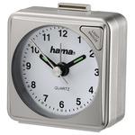 Hama A50 cestovní budík stříbrná (136238-H)