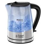 Russell Hobbs Purity 22850-70 / rychlovarná konvice / 2200 W / 1L / vodní filtr Brita / nerez / průh