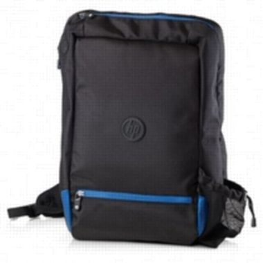"HP Rainhood Backpack / batoh / 17,3"" / �erno-modr�"