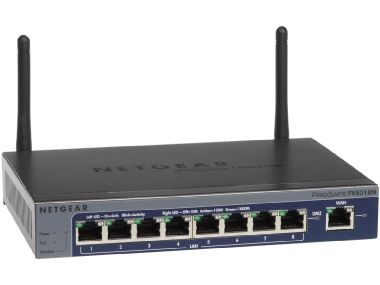 NETGEAR / FVS318N / Prosafe VPN Firewall (up to 12 VPN tunnels) with 8 port 10/100/1000Mbps