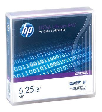 HP Ultrium 6.25 TB / LTO-6 / Data tape