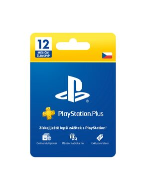 Sony Playstation Plus Card - 365 dní (Sony PlayStation 4, 3, Vita)