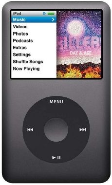 APPLE iPod classic 160 GB - Black