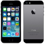 Apple iPhone 5S - 16GB / iOS9.3CZ / space grey (ME432)