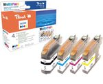 Peach alternativní cartridge Brother LC-223 / Brother DCP-J4120DW / s čipem / Multi Pack
