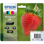 EPSON T2986 originální cartridge 29 CMYK / XP-235 XP-332 / 3x3.2 + 5.3ml / Multipack