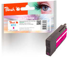 Peach remanufactured alternativní cartridge HP 711 (CZ131A) purpurová / 32 ml / new chip