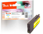 Peach remanufactured alternativní cartridge HP 711 (CZ132A) žlutá / 32 ml / new chip