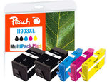 Peach remanufactured alternativní cartridge HP 903XL MultiPack Plus / 2x28+3x12 ml / new chip