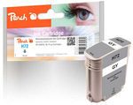 Peach remanufactured alternativní cartridge HP 72 (C9401A) šedá / 76 ml / new chip