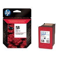 HP C6658AE Ink Cart No.58 pro DJ 3650,5550, PS 7x50, Photo Color