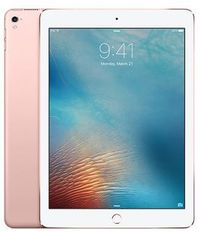 "Apple iPad Pro 32GB WiFi + Cellular Rose Gold / 9.7""/ 2048x1536 / WiFi + LTE / 9h výdrž / 2x kamera / iOS9.3 / Růžový"