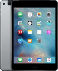 "Apple iPad Mini 4 128GB WiFi Cellular Space Gray / 7.9""/ 2048x1536 / Wi-Fi+LTE / 9h výdrž / 2x kamera / iOS9 / Šedý"