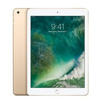 "Apple iPad Wi-Fi 128GB (2017) Gold / 9.7""/ 2048x1536 / WiFi / 10h výdrž / 2x kamera / iOS10 / zlatá"