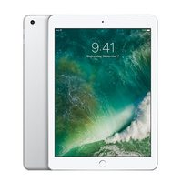 "Apple iPad Wi-Fi + Cellular 128GB (2017) Silver / 9.7""/ 2048x1536 / WiFi / 10h výdrž / 2x kamera / iOS10 / stříbrná"