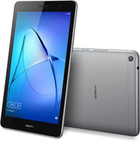 "HUAWEI Mediapad T3 8 16GB šedá / 8""/ 1280x800 / Quad-Core 1.4GHz / 2GB / 16GB / Wi-Fi / 5MP+2MP / Android 7"