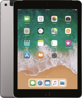 "Apple iPad Wi-Fi 128GB (2018) Space Grey / 9.7""/ 2048x1536 / WiFi / 10h výdrž / 2x kamera / iOS11.3"