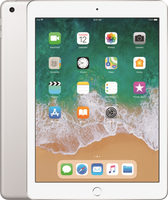 "Apple iPad Wi-Fi 128GB (2018) Silver / 9.7""/ 2048x1536 / WiFi / 10h výdrž / 2x kamera / iOS11.3"