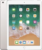 "Apple iPad Wi-Fi + Cellular 32GB (2018) Silver / 9.7""/ 2048x1536 / WiFi / 10h výdrž / 2x kamera / iOS11.3"