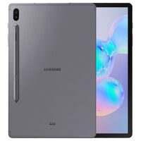 "SAMSUNG Galaxy Tab S6 Wi-Fi 128GB Mountain Gray  / 10.5"" / O-C 2.84GHz / 6GB / BT / GPS / 13+5MP+8MP / Android 9"