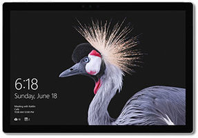 "Microsoft Surface Pro 256GB stříbrná / 12.3"" / 2736 x 1824 / i5-7300U 2.6GHz / 8GB / 256GB / Intel HD 620 / W10P"