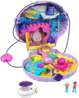 Mattel Polly Pocket GKJ63 GNH11 Tiny Power Seashell Purse / kufřík s podmořským světem / od 4 let