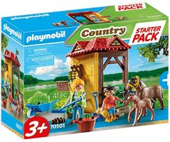 Playmobil Country 70501 Starter Pack Koňská stáj / od 3 let