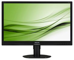 "23"" PHILIPS 231S4QCB-00 / LED / 1920 x 1080 / IPS / 16:9 / 14ms / 20mil:1 / 250cd-m2 / VGA+DVI / Černý"