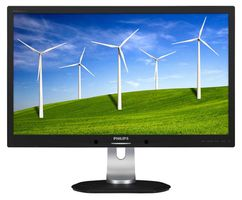 "27"" PHILIPS 272B4QPJCB/00 / LED / 2560x1440 / 16:9 / 12ms / 20mil:1 / 350cd-m2 / VGA+DVI+DP+HDMI / USB / Repro / Černý"