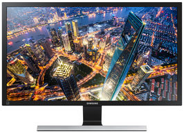 "28"" SAMSUNG LU28E590DS / TN / 3 840 x 2 160 / 1ms / 370cd-m2 / DP+2xHDMI+Jack3.5mm"