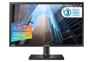 "23.6"" Samsung S24E650 / FHD / PLS / 4ms / 250cd/m2 / HDMI+VGA+DP"