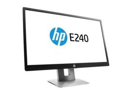 "23.8"" HP E240 / 1920x1080 / IPS LED / 16:9 / 250cd/m2 / 1000:1 / 7ms / VGA+HDMI+DP / USB / černá"